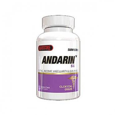 ANDRIN Andarine S4 SARM by Hardcore Formulations 25mg 60 caps