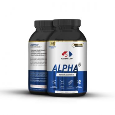 Alchemy Labs ALPHA-5 SARM with 5-Alpha-Hydroxy-Laxogenin Laxosterone